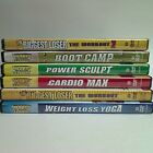 Biggest Loser Workout 6 DVD Lot