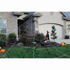 Mega Spider Web Outdoor Yard Halloween Decoration Terrify Your Neighbors