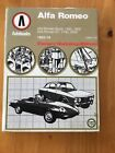 ALFA ROMEO GIULIA GTV DUETTO SPIDER 1300 1600 1750 2000 1962-1978 REPAIR MANUAL