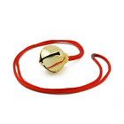 30mm Christmas Gold Craft Jingle Bell Necklaces Bulk 36 Pieces