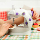 Mini Desktop Sewing Machine Electric Portable Hand Held Double Speed + Light