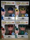 Funko POP! Animation: The Flintstones - Dino 4 Pack Bundle Funko Shop Exclusive