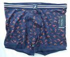 Nautica Blue Anchors Size Large  Mens Boxer Briefs New with Tags Cotton Blend  L