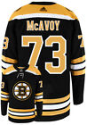 CHARLIE McAVOY BOSTON BRUINS ADIDAS AUTHENTIC HOME NHL HOCKEY JERSEY