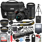 Nikon D5600 242 MP DSLR Camera AF P DX 18 55mm and 70 300mm NIKKOR Lens Pro Kit