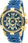 Invicta 25768 Bolt Men's 51mm Stainless Steel Gold-Tone Blue Dial Watch
