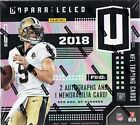 2018 Panini Unparalleled Football Factory Sealed Hobby Box