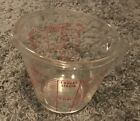 Anchor Hocking Fire-King 4 Cup 32 Ounce GLASS Measuring Cup Large  Vintage #499