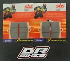 Borile B 500 CR,MT 2002 2003 2004 SBS Race Sintered Front Brake Pads 566RS