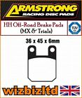 Armstrong Heck Mx Bremsbeläge Rieju RS1 50cc 01-04 PAD990105