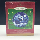 HALLMARK KEEPSAKE ORNAMENT visit from St Nicholas nick collectors plate santa