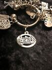 Add MUSIC to everything Music Notes Weight Loss Charm for Weight Watchers Ring