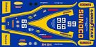 #66 Mark Donohue Sunoco 1973 INDY 1/64th HO Scale Slot Car Decals