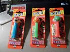 LOT OF 3 NINTENDO PEZ MARIO , YOSHI AND KOOPA TROOPA IN PACKAGE