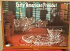 8 Pc Anchor Hocking Early American Prescut Snack Set Complete in Box EAPC