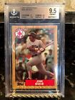 JIM RICE 1987 TOPPS TIFFANY BGS 9.5 LOW POP CONDITION SENSITIVE SET RED SOX