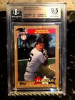 WADE BOGGS 1987 TOPPS TIFFANY ALL STAR BGS 9.5 CONDITION SENSITIVE SET RED SOX