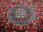 10X13 1940's SPECTACULAR HAND KNOTTED ANTIQUE MASTER SIGNED MASHADD PERSIAN RUG