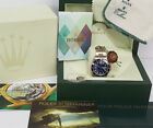 New Style Rolex Submariner 16613 18k Gold SS Mens Watch Blue Box Papers Tags