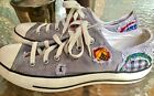 RARE Mens Gray CONVERSE ALL STAR UNISEX Sneakers Mens 75M Wms 95