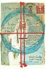 Postcard of Collage by Lenore Tawney 1977 Mail Art