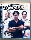 Top Spin 3 PS3 Tested Play Station 3, video games