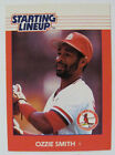 1988 KENNER OZZIE SMITH STARTING LINEUP BASEBALL CARD  #3397110050