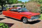Ford Galaxie Simply stunning 500 Fastback Absolutely Gorgeous 1963 z code 390 v 8 Power Steering