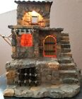 1998 Fontanini Lighted 3 Level Nativity Building 50245 Retired IOB For 25 Fig