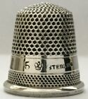 Sons - Sterling 2 band Thimble - c1886-1897 - Size 5