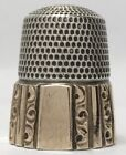Fluted Sterling Thimble Size 9 by Simons Bros. Co.