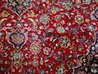 10X13 1940's GORGEOUS AUTHENTIC HAND KNOTTED 70+YRS ANTIQUE MASHADD PERSIAN RUG