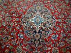 10X13 1940's GORGEOUS AUTHENTIC HAND KNOTED 70+YRS ANTQ WOOL MASHADD PERSIAN RUG
