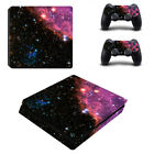 For Palystation 4 PS4 Slim Controller&Console The starry sky Game Skin Sticker
