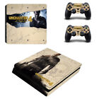 The Uncharted 4 Game Skin Sticker For Palystation 4 PS4 Slim Controller Suface