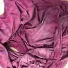 Hand Dyed silk Fabric stretch knit  silk 12 x 46 inches  hand dyed