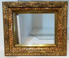 Antique Gilt Gold Deep Dish Victorian Wood Picture Painting Print Frame 8