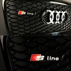 AUDI S Line Style Badge LOGO FOR FRONT GRILL Illuminated Led A3 A4 A5 A6 A7 TT