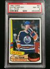 1980 81 Topps #87 Wayne Gretzky All-Star PSA 8 NM-MT