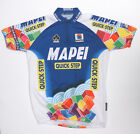 Vintage MAPEI Quick Step cycling jersey by Team Issue Mens size XL 1 4 zipper