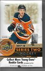 2017 18 UPPER DECK SERIES TWO HOCKEY HOBBY BOX FACTORY SEALED