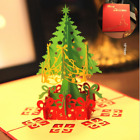 US3D Pop Up Paper Card Christmas Tree Xmas Greeting Holiday Birthday Gifts