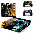 For Sony Palystation 4 PS4 The Mortal Kombat X Game Decal Vinyl Skin Sticker
