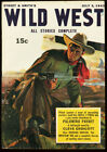 WILD WEST WEEKLY JULY 3 1943 CIRCLE J PARDS HIGH GRADE VF