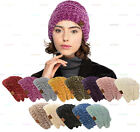 C.C Chenille Solid Ribbed Beanie Soft Stretch Cable Knit Warm Skull Cap