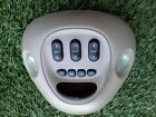 1997-2002 FORD EXPEDITIO CENTER CONSOLE OVERHEAD MAPLIGHT TAN OEM SEE PHOTO