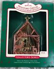 Hallmark Christmas Ornament Miniature Creche Brass #3 Holy Family Nativity 1987