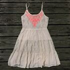 Small Lace And Embroidered Flying Tomatoes Dress Hippie Boho Urban Outfitters