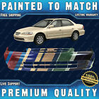 New Painted To Match Front Bumper Exact Fit For 2001 2002 Honda Accord 4 Door