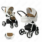 Bebebi Fizzy  white air wheels  2 in 1 pram  pushchair set